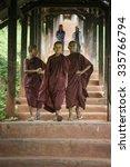 bagan  myanmar   07 sep. 2015 ... | Shutterstock . vector #335766794