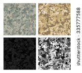 camouflage military backgrounds ... | Shutterstock .eps vector #335777588
