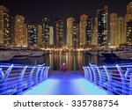 Skyscrapers Of Dubai Marina...
