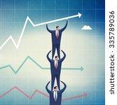 teamwork. concept business... | Shutterstock . vector #335789036