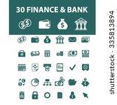 finance  banking  money ... | Shutterstock .eps vector #335813894
