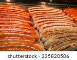 red baked delicious juicy... | Shutterstock . vector #335820506