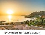 Oman Coast Landscape At Barr A...