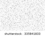 abstract matrix background.... | Shutterstock .eps vector #335841833