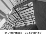 structure of steel roof frame... | Shutterstock . vector #335848469