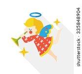 Angel Flat Icon