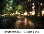 Parks Blurred