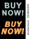 buy now  in two styles  blue... | Shutterstock . vector #335863394