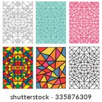Set Of Seamless Pattern In...