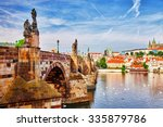 Charles Bridge From The Quay Of ...