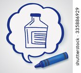 doodle gallipot | Shutterstock . vector #335886929