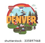 denver  colorado great...   Shutterstock .eps vector #335897468