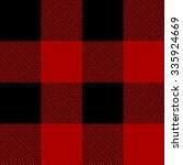 lumberjack plaid pattern vector | Shutterstock .eps vector #335924669