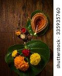 indian devotional or puja... | Shutterstock . vector #335935760