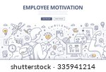 doodle design style concept of... | Shutterstock .eps vector #335941214