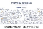 doodle design style concept of... | Shutterstock .eps vector #335941343