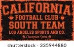 california   los angeles... | Shutterstock .eps vector #335944880