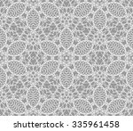 detailed vector abstract lace... | Shutterstock .eps vector #335961458