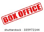 Box Office Red Stamp Text On...