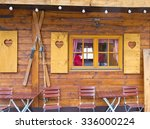 Old Wooden Chalet With...