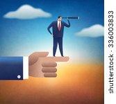 direction. concept business... | Shutterstock . vector #336003833