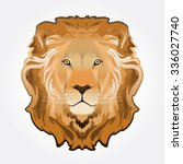 lion head illustration | Shutterstock .eps vector #336027740