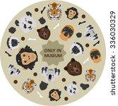 threatened species | Shutterstock .eps vector #336030329