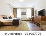 Stock photo bedroom interior 336067703