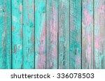 Aquamarine  Wooden Planks...