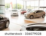 view of row new car at new car... | Shutterstock . vector #336079028