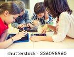 education  elementary school ... | Shutterstock . vector #336098960