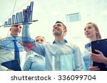 business  people  teamwork and... | Shutterstock . vector #336099704