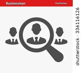 businessman icon. professional  ... | Shutterstock .eps vector #336116126
