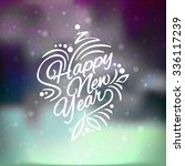 vector illustration christmas... | Shutterstock .eps vector #336117239