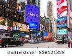 new york  usa   sep 22  2015 ... | Shutterstock . vector #336121328
