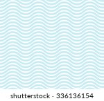 seamless wave line pattern ... | Shutterstock .eps vector #336136154