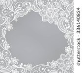 template frame  design for card.... | Shutterstock .eps vector #336140834