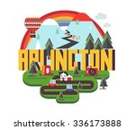 arlington city travel...   Shutterstock .eps vector #336173888