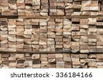 pattern wood fence  background... | Shutterstock . vector #336184166