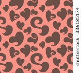 seamless pattern background... | Shutterstock .eps vector #336185174