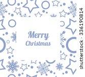 seasonal winter seamless...   Shutterstock .eps vector #336190814