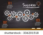business gears and success plan | Shutterstock .eps vector #336201518