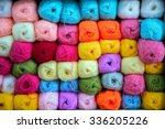 Colorful Of Yarn Balls Wool In...