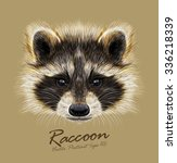 vector illustrated portrait of... | Shutterstock .eps vector #336218339