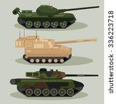 military vector tanks image... | Shutterstock .eps vector #336223718