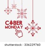 cyber monday deals design ... | Shutterstock .eps vector #336229760