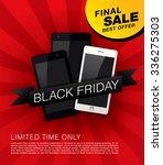 black friday banner. sale | Shutterstock .eps vector #336275303