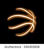 basketball close up... | Shutterstock .eps vector #336302828