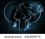 human tangents series. backdrop ...   Shutterstock . vector #336304973