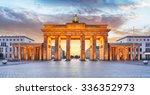 Berlin   Brandenburg Gate At...